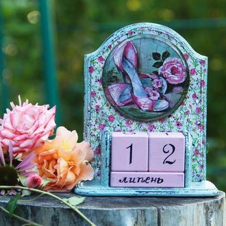 вечный календарь Розовые розы