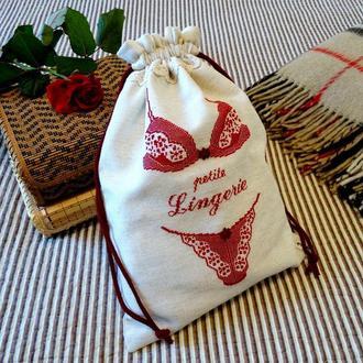 Мешочек для нижнего белья Lingerie, Handmade
