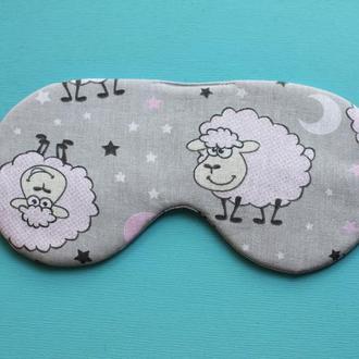 маска для сна с овечками