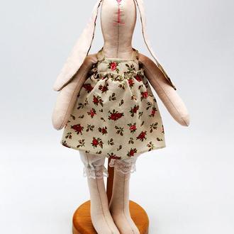 Мягкая игрушка «Кролик Девочка» в стиле тильда