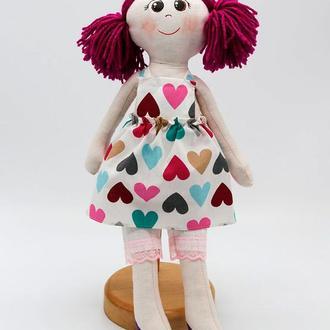Мягкая игрушка «Кукла Настенька»