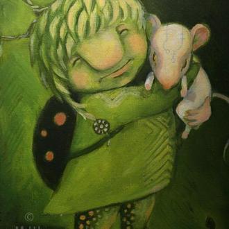 Картина МокХ. Світло це ми, коли ми любов...
