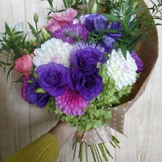 Букет из живых цветов, Цветы, Букет