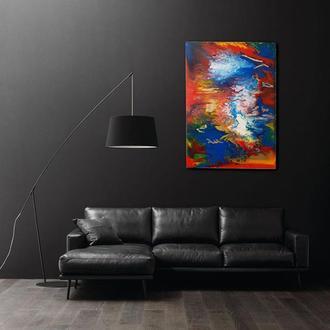 """Интерьерная картина """"Небесный водопад"""""""