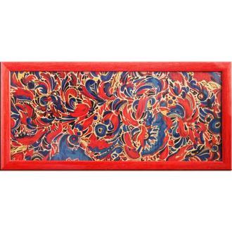 Танец. Абстрактная живопись, абстрактная картина в раме, авторская живопись, маркеры, картон