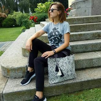 Универсальная сумка, шоппер, пляжная сумка, городская сумка