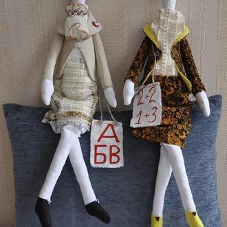 Кукла тильда учительница