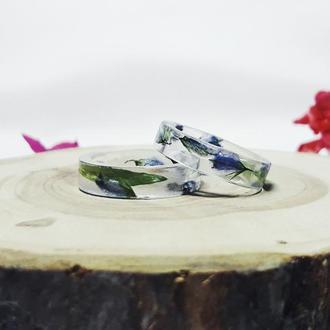 Кольцо с полевыми цветами