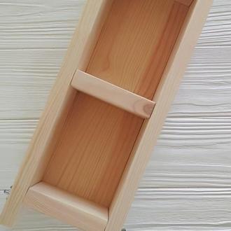 Деревянная форма для мыла с нуля на 1.5 кг масел