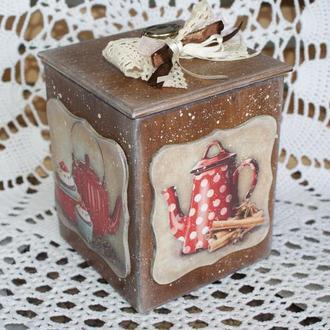 Короб для сладостей Чайный