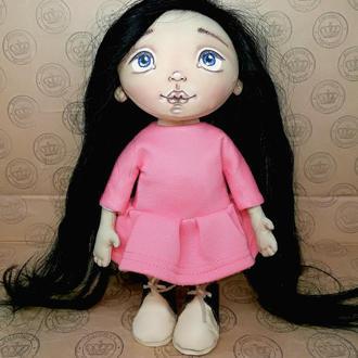 Текстильная интерьерная кукла Маринка