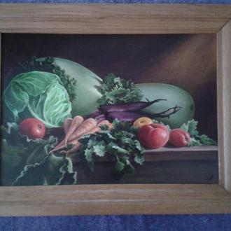 Натюрморт для кухни или столовой.