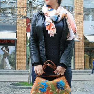 """Валяная сумка """"Керамика"""""""