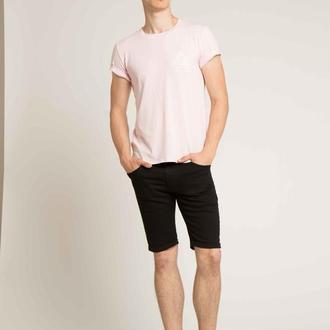 Шорты черные джинсовые  скинни