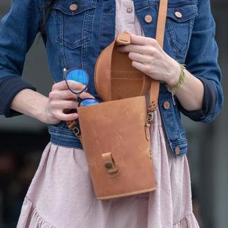 Кожаная сумка Джейн