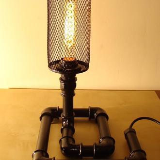 Лофт(steampunk, стимпанк) светильник
