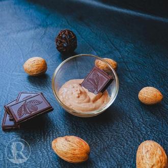 """Крем для тела """"Шоколадная нежность""""."""