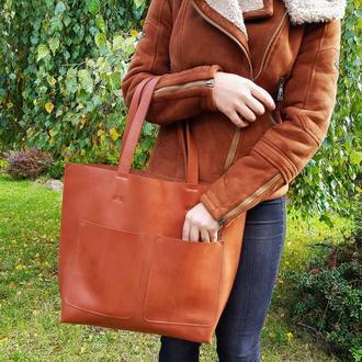 Кожаная сумка Tempo Tote