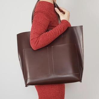 Шоколадная сумка Tempo Tote
