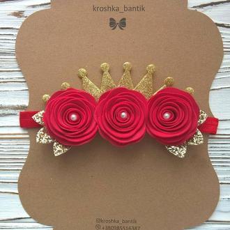 Праздничные повязочки-короны