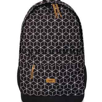 Рюкзак BACKPACK-2 | geometrik print 1/18 , черный