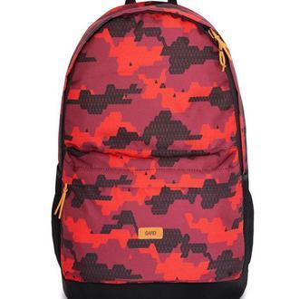 Рюкзак BACKPACK-2 | red triangle print 1/18, красный