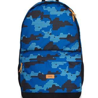 Рюкзак BACKPACK-2 | blue triangle print 1/18, синий