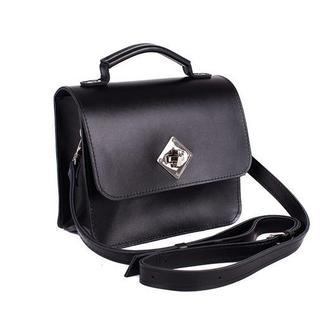 Женская сумка Jenni из натуральной кожи черная