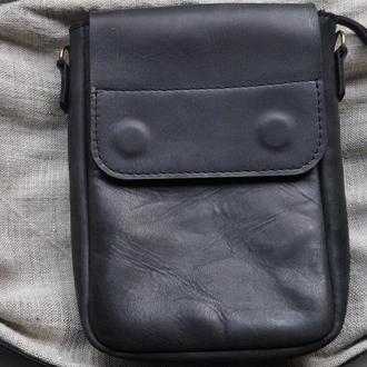 Сумка мужская из натуральной кожи. Мужская сумка на каждый день.