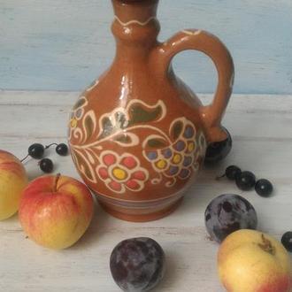 Тыква, графин, сосуд для спиртных напитков, гончарная керамика