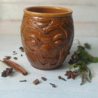 Чашка DOTA, чашка из игры DOTA, гончарная керамика