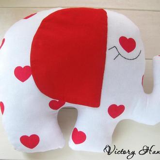 Яркий слон игрушка-подушка