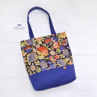 Текстильная сумка Полевые цветы