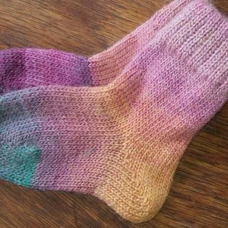 Детские носочки из шерсти