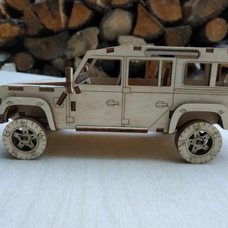 3D пазл  Land Rover Defender 110