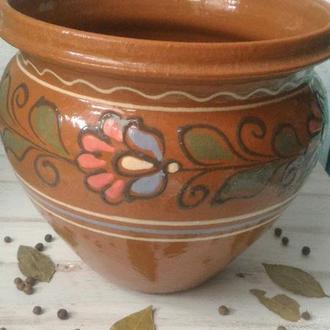 Макитра, гончарная керамика