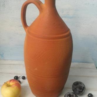 Бутылка для вина, спиртных напитков, бутель, графин, гончарная керамика