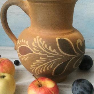 Кувшин, глечик, гончарная керамика