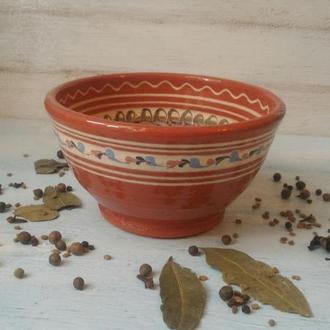 Тарелка, салатник, гончарная керамика