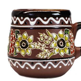 Кофейная чашка из украинской керамики