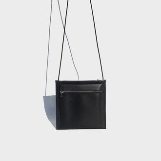 Кожаная мужская сумка,Сумка через плечо