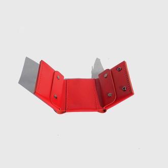 Кожаный кошелёк,Красный кошелёк
