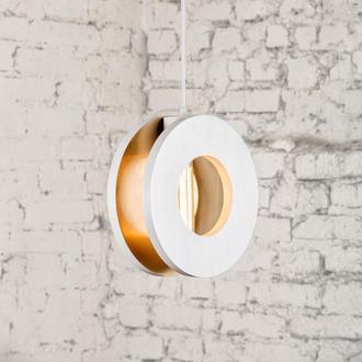 деревянный подвесной светильник HQ1 в стиле лофт