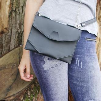 "Жіноча сумочка на пояс ""Іриска"", женская сумочка, стильная сумочка на лето, бананка"