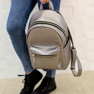 Эксклюзивный женский чёрный рюкзак