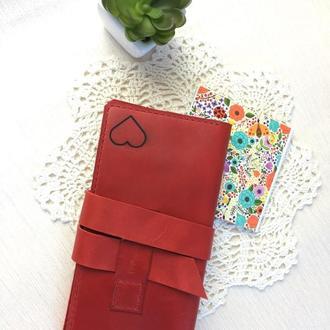 Жіночий  шкіряний гаманець, жіноче портмоне, чоловічий гаманець, кожаный кошелек