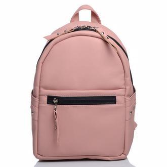 Красивый женский модный рюкзак пудра