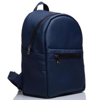 Очень красивый и удобный женский рюкзак синий