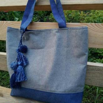 Сумка шопер, городская сумка, универсальная сумка.
