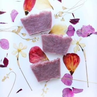 Натуральное нежное цветочное крем-мыло , 100 граммов